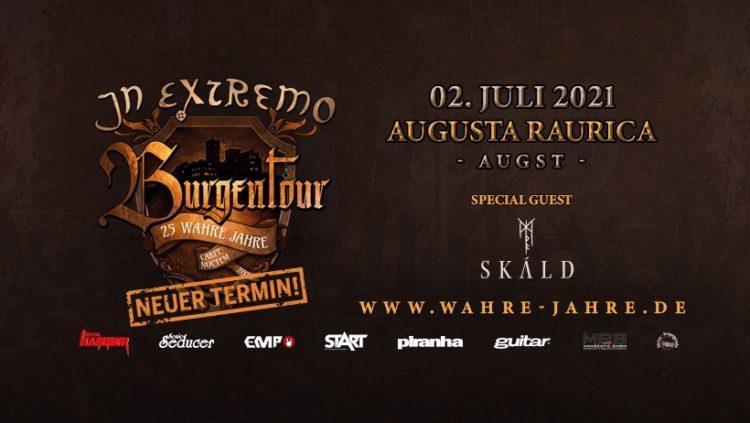 In Extremo @Theater Augusta Raurica (Switzerland), 02 luglio 2021