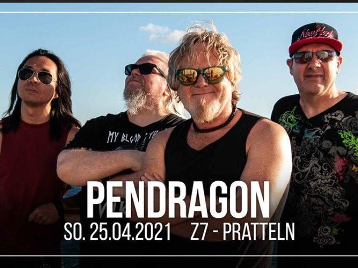Pendragon @Z7 Konzertfabrik – Pratteln (Switzerland), 25 aprile 2021 ( ANNULLATO )