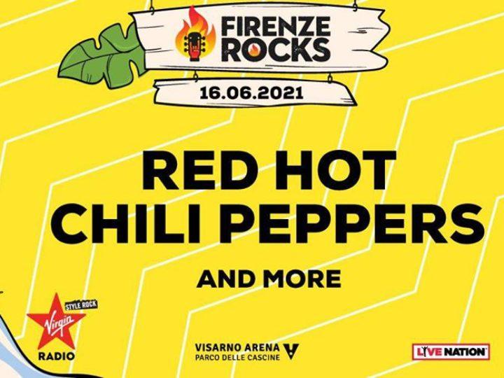 Red Hot Chili Peppers + guest @Firenze Rocks – Visarno Arena, 16 giugno 2021