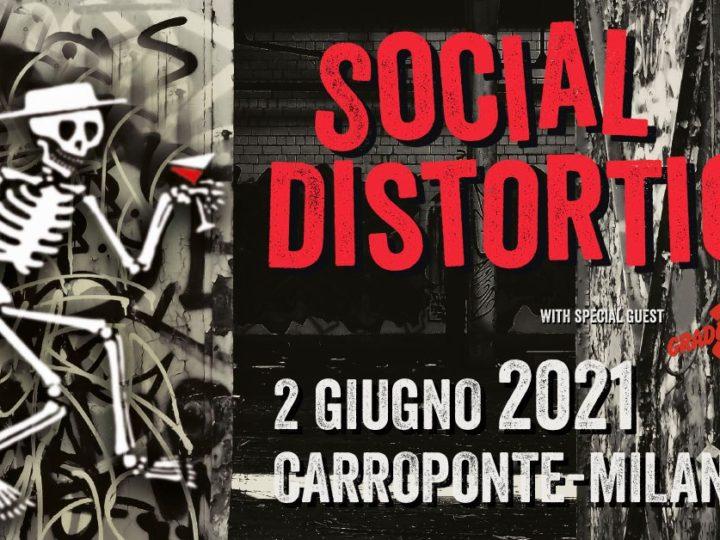 Social Distortion + guests @Carroponte – Sesto San Giovanni (Mi), 02 giugno 2021