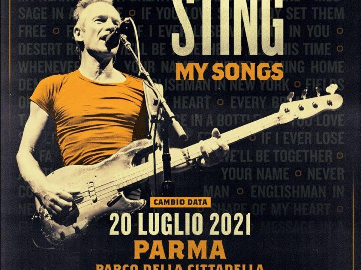 Sting @Parco della Cittadella – Parma, 20 luglio 2021