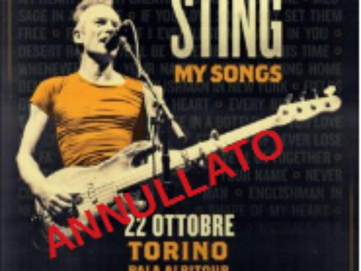 Sting @Pala Alpitour – Torino, 22 ottobre 2020