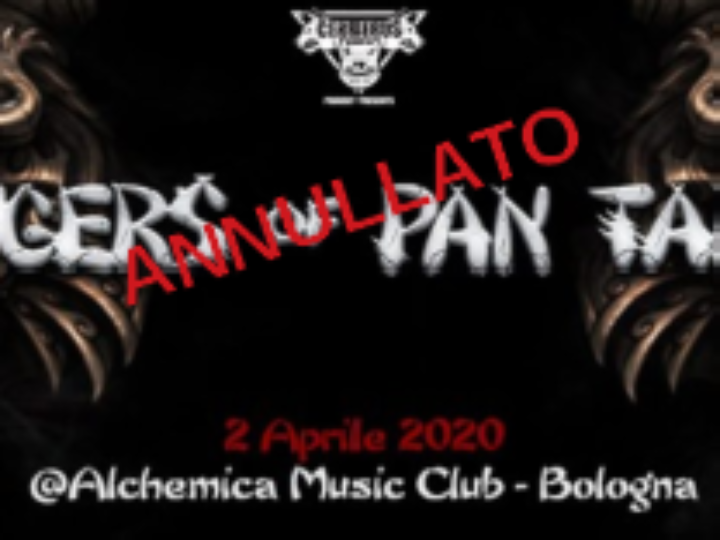 Tygers Of Pan Tang + guest @Alchemica Music Club – Bologna, 02 aprile 2020