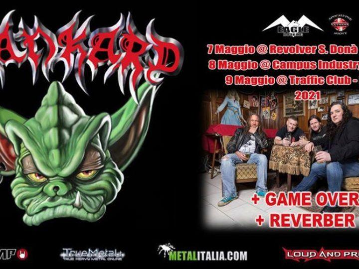 Tankard + guests @Revolver Club – San Donà di Piave (Ve), 07 maggio 2021