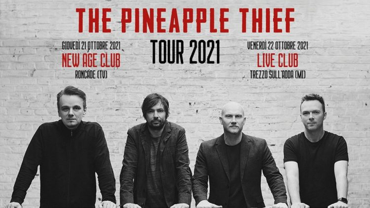 The Pineapple Thief @Live Music Club – Trezzo sull'Adda (Mi), 22 ottobre 2021