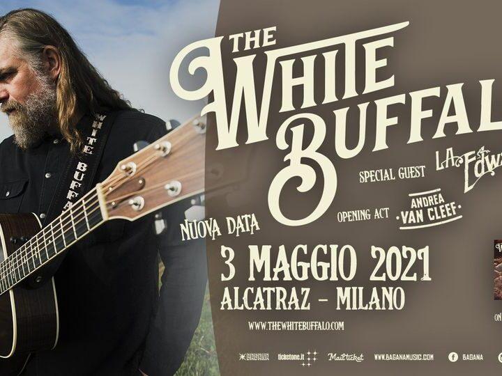 The White Buffalo @Alcatraz – Milano, 03 maggio 2021 ( ANNULLATO )