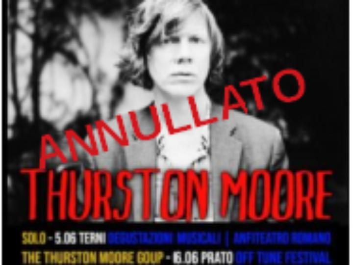 Thurston Moore @Anfiteatro – Terni, 05 giugno 2020