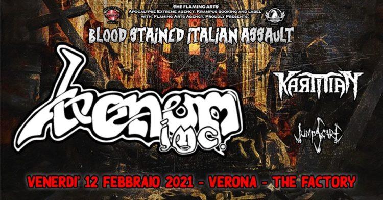 Venom Inc. + guest @The Factory – San Martino Buonalbergo (Vr), 12 febbraio 2021