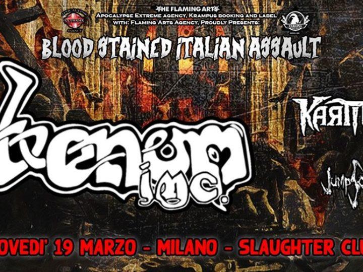 Venom Inc. + guest @Slaughter Club – Paderno Dugnano (MI), 19 marzo 2020