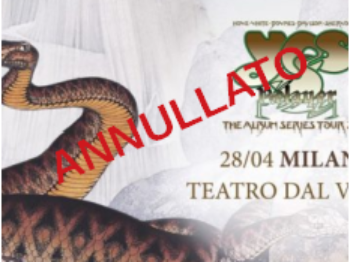 Yes @Teatro dal Verme – Milano, 28 aprile 2020