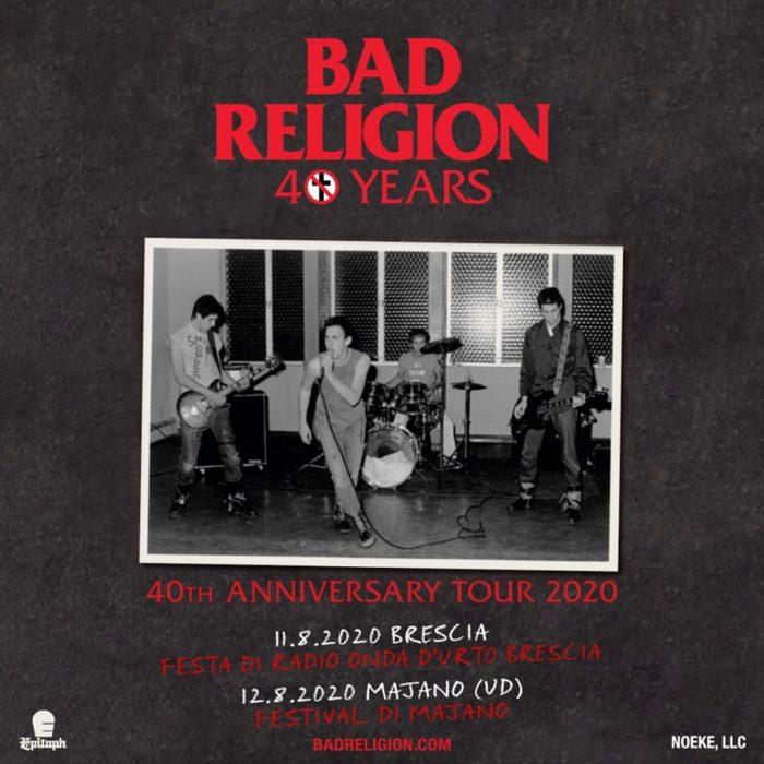 Bad Religion @ Festa di Radio Onda d'Urto – Brescia, 11 agosto 2020
