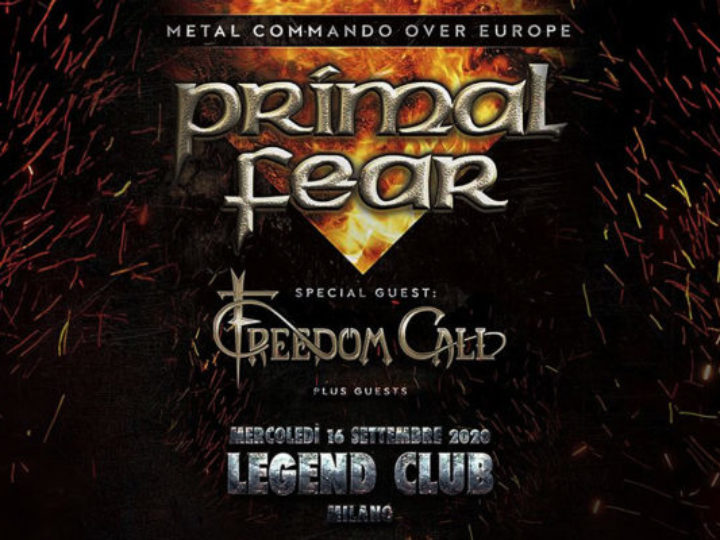 Primal Fear @Legend Club – Milano, 16 settembre 2020