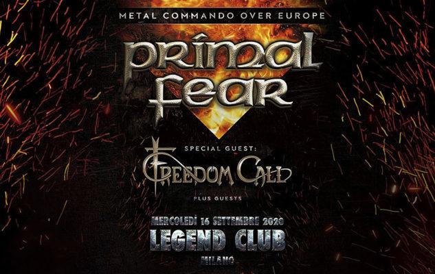 Primal Fear @Legend Club – Milano, 16 settembre 2020