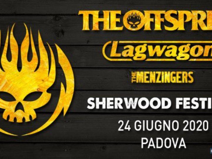 The Offspring + Lagwagon + The Menzingers @ Sherwood Festival – Padova, 24 giugno 2020