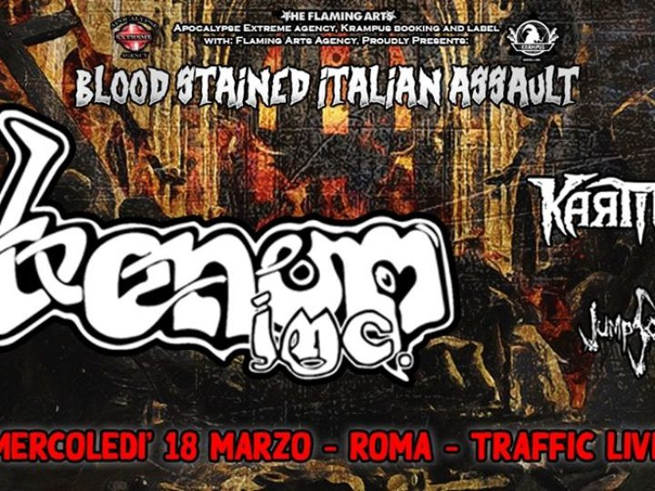 Venom Inc. + guest @Traffic Club – Roma, 18 marzo 2020