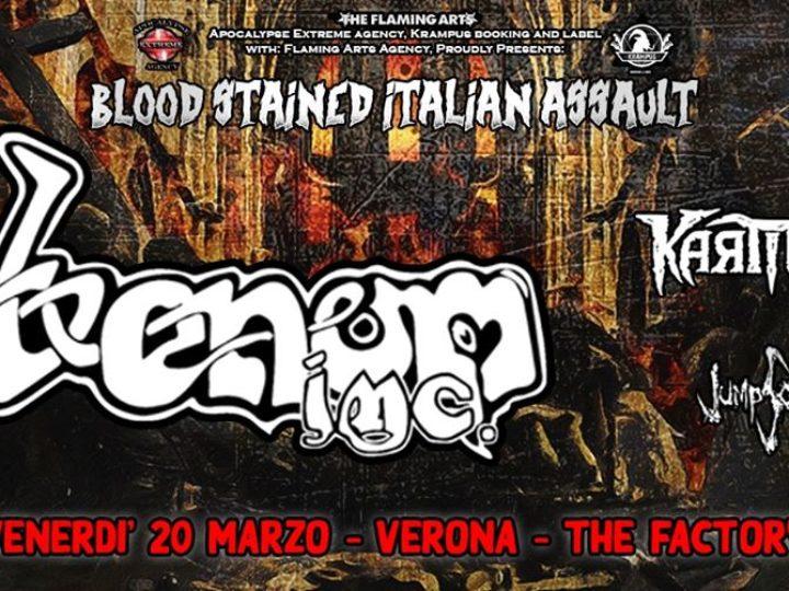 Venom Inc. + guest @The Factory – San Martino Buonalbergo (Vr), 20 marzo 2020