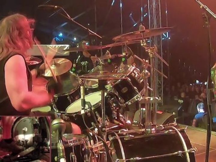 Exodus, drumcam di 'Deathamphetamine' dal The Bay Strikes Back 2020
