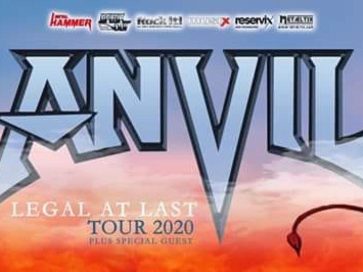Anvil + guest @Legend Club – Milano, 19 novembre 2020