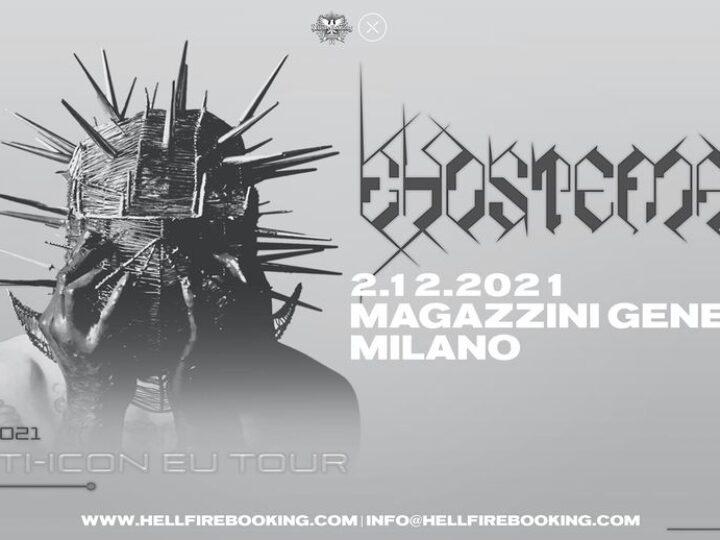 Ghostemane @Magazzini Generali – Milano, 02 dicembre 2021
