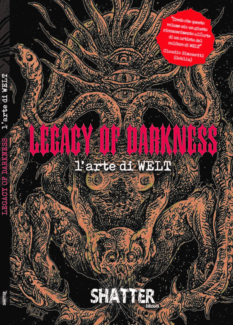 The Library (21) – Legacy of Darkness. L'arte di WELT