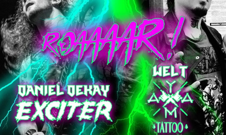 Exciter, Daniel Dekay in diretta streaming con Welt (Yama Tattoo)