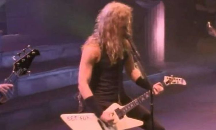 Metallica, in streaming lo show del 1991 Live in Muskegon, Michigan