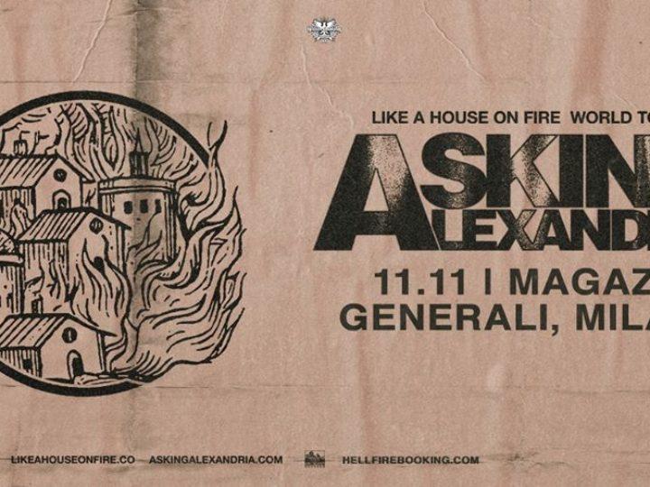 Asking Alexandria @Magazzini Generali – Milano, 11 novembre 2020