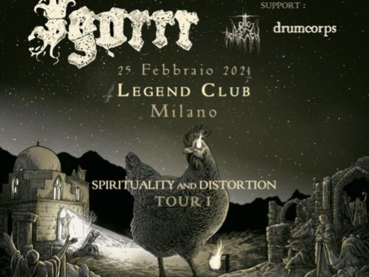 Igorrr @Legend Club – Milano, 25 febbraio 2021