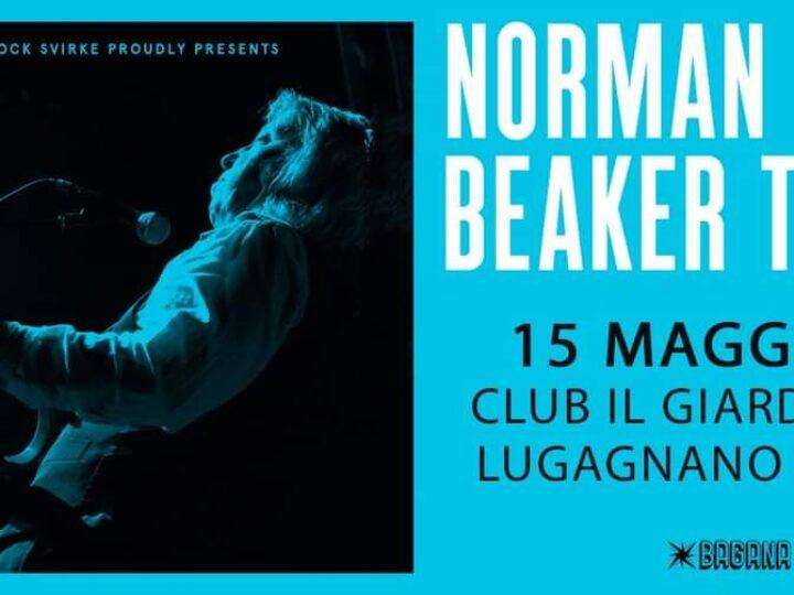 Norman Beaker @Club il Giardino – Lugagnano (Vr), 15 maggio 2021