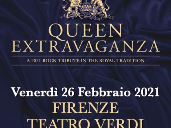 Queen Extravaganza @Teatro Verdi – Firenze, 26 febbraio 2021