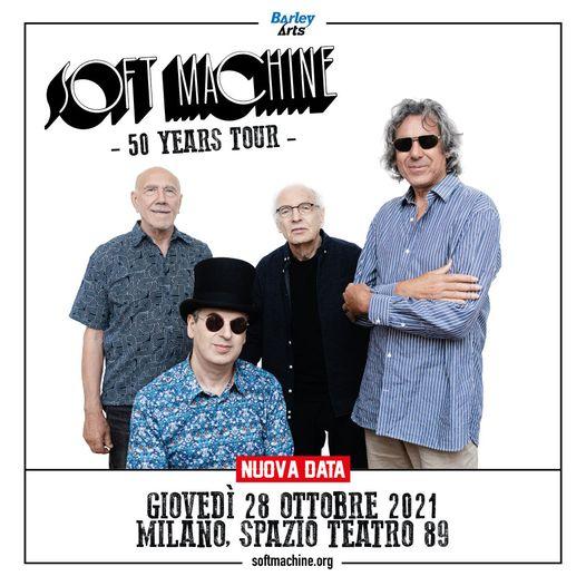 Soft Machine @Spazio Teatro 89 – Milano, 28 ottobre 2021