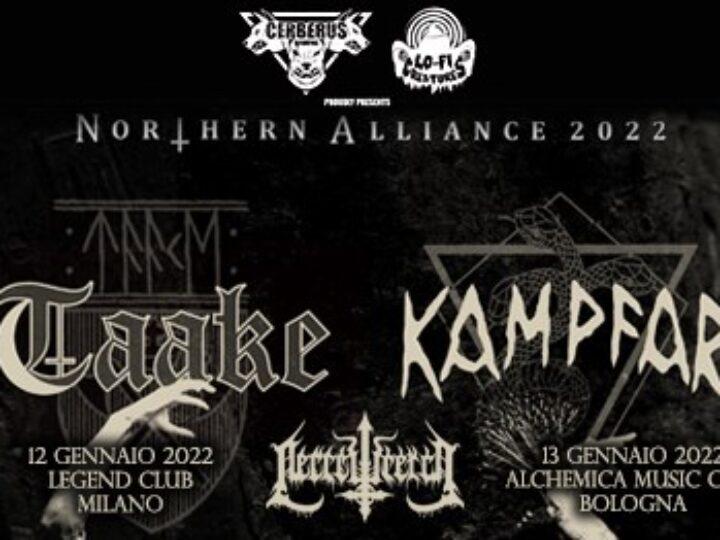 Taake, Kampfar, Necrowretch @Legend Club – Milano, 12 gennaio 2022