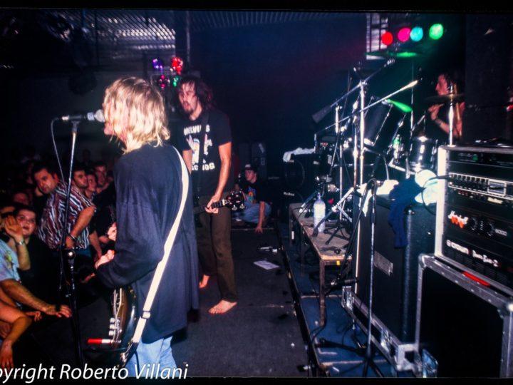 Nirvana + Urge Overkill live @Kryptonight, Baricella (BO), 20 novembre 1991