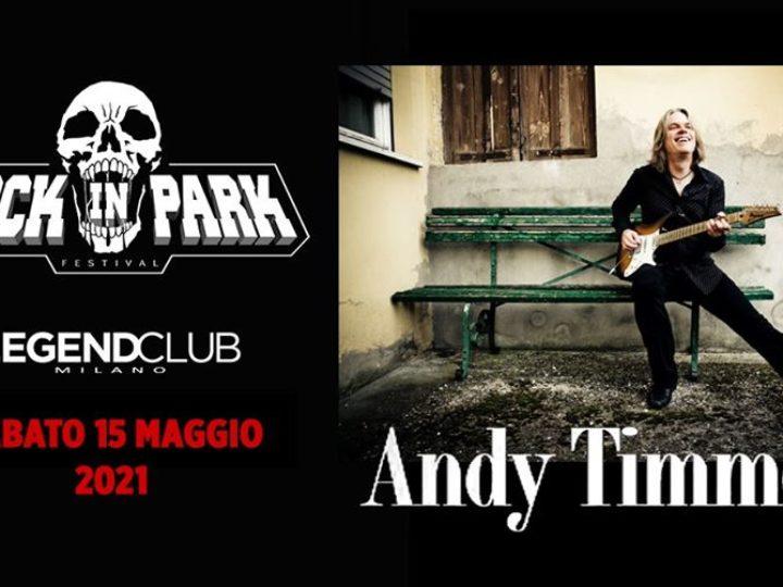 Andy Timmons @Legend Club – Milano, 15 maggio 2021