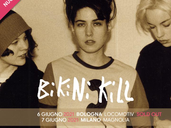 Bikini Kill @Locomotiv Club – Bologna, 06 giugno 2021