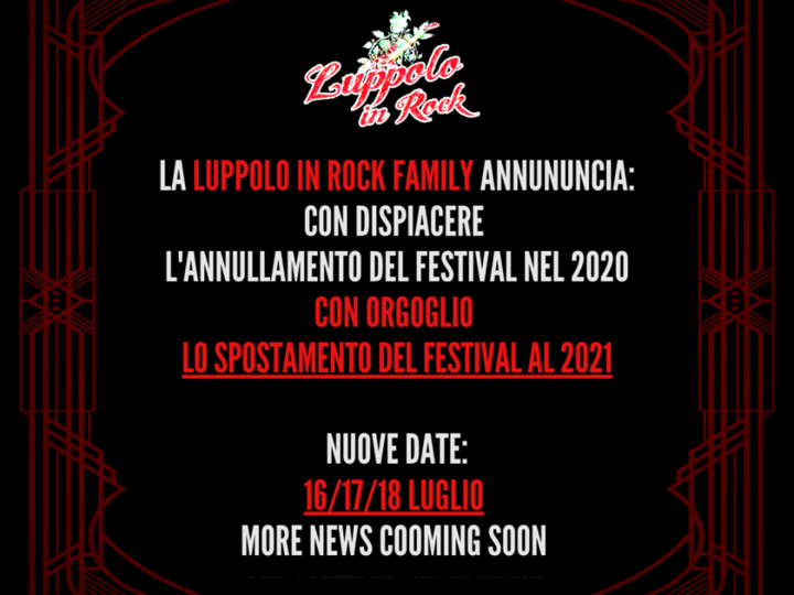 Luppolo in Rock @ex Colonie Padane – Cremona, 16/17/18 luglio 2021
