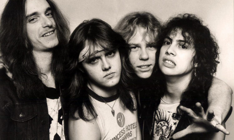 Metallica, streaming del concerto a Chicago del 1983