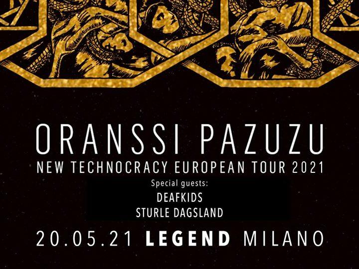 Oranssi Pazuzu @Legend Club – Milano, 20 maggio 2021