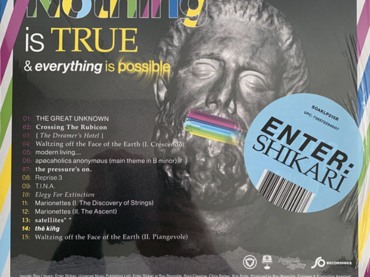 Enter Shikari – Nothing Is True & Everything Is Possible