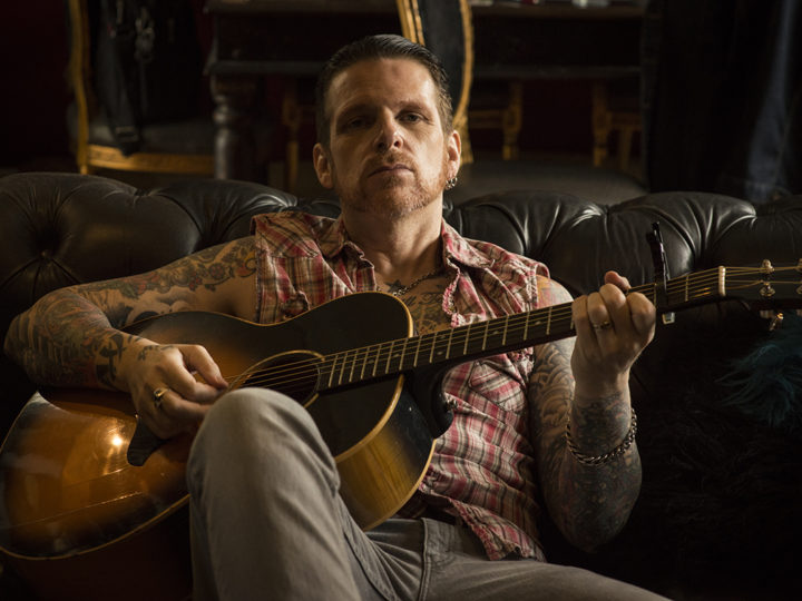Ricky Warwick, concerto acustico in streaming su StageIt