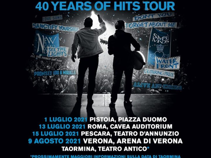 Simple Minds @Arena di Verona (Verona), 09 agosto 2021