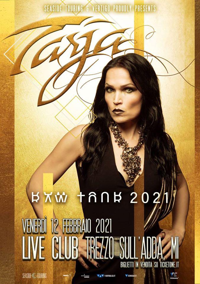 Tarja Turunen – Raw Tour 2021 + guests @Live Club – Trezzo sull'Adda (MI), 12 febbraio 2021