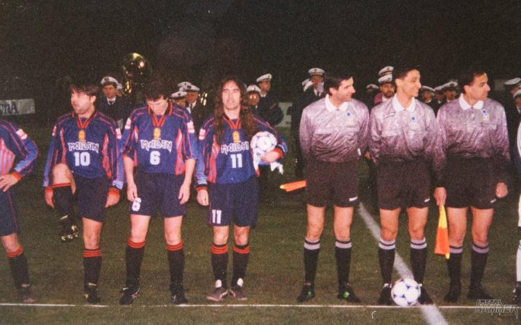 Football Of The Beast – Iron Maiden vs Nazionale Italiana Cantanti (1998)