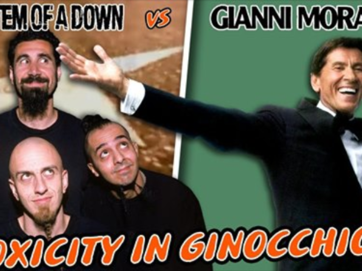 System Of A Down, assieme a Gianni Morandi nel mashup 'Toxicity In Ginocchio' di Bruxxx