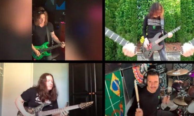 Anthrax, Skid Row, membri suonano dalla quarantena 'Transylvania' degli Iron Maiden