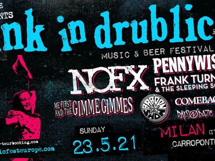 Punk In Drublic @Carroponte – Sesto San Giovanni (Mi), 23 maggio 2021