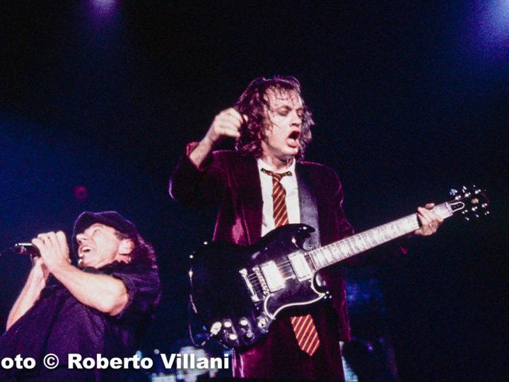 AC/DC + Wildhearts @Palasport – Casalecchio di Reno (BO), 15 maggio 1996