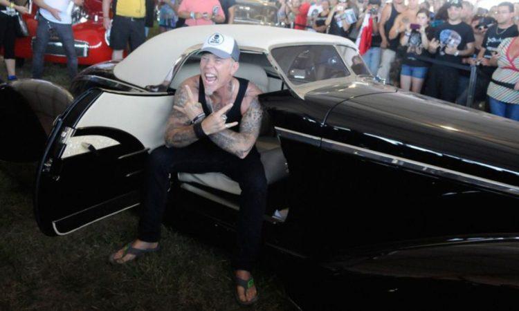Metallica, ecco la collezione di auto di James Hetfield