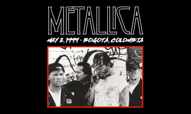 Metallica, guarda tutto il concerto a Bogotá del 1999