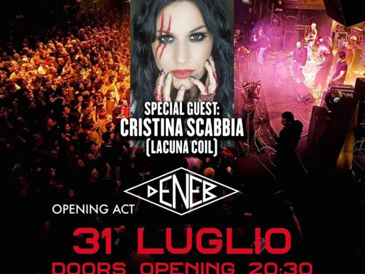 Dagda Live Club, il 31 luglio live Rezophonic con Cristina Scabbia